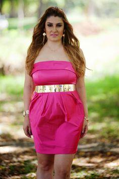 look do dia, vestido pink, vestido rosa, vestido de cetim, patricia bonaldi…