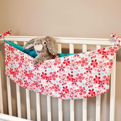 Learn how to make a toy hammock with this toy hammock pattern! Making a toy hammock is easy. Great as stuffed animal storage pattern too! Easy Sewing Projects, Sewing Projects For Beginners, Sewing Hacks, Sewing Crafts, Sewing Tutorials, Sewing Ideas, Craft Projects, Love Sewing, Sewing For Kids