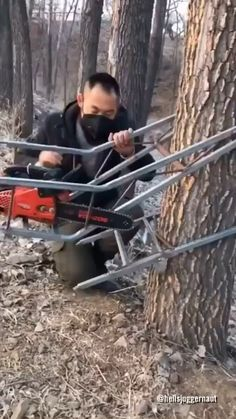Cool Gadgets To Buy, Gadgets And Gizmos, Homemade Tools, Diy Tools, Welding Projects, Woodworking Projects, Inventions Sympas, Climbing Tree Stands, Work Tools