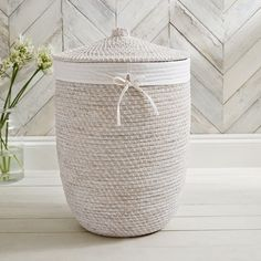 We love our Alibaba Collection, not least because we've spent years searching for this exotic yet relaxed style of basket. Complete with a handy white cotton liner that can be easily removed to carry your clothing to the washing machine (and can Woven Laundry Basket, Laundry Basket With Lid, Washing Basket, Woven Baskets, Baskets For Shelves, Storage Baskets, Laundry Basket Shelves, Clothes Basket, Rope Basket
