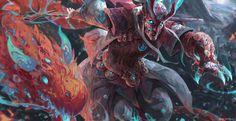 Fire Mystic, Jason Nguyen on ArtStation at https://www.artstation.com/artwork/Lb2qR