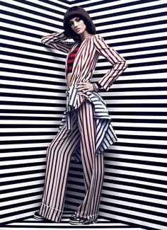 High Contrast - Fashion Magazine May 2013 Samantha Rayner by Chris Nicholls  3