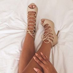 new year arrival grey pink suede black peep toe short boots lace up stiletto heel booties sexy ladies gladiator ankle boots Nude High Heels, Stiletto Heels, Nude Strappy Heels, Lace Up Heels, Peep Toe, Zapatos Shoes, Shoes Heels, Stilettos, Pumps