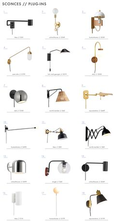 "The ""Headboard Sconce"" Might Be Our Favorite Hotel-Inspired .- The ""Headboard Sconce"" Might Be Our Favorite Hotel-Inspired Small Bedroom Hack The ""Headboard Sconce"" Might Be Our Favorite Hotel-Inspired Small Bedroom Hack – Emily Henderson - Bedroom Lighting, Bedroom Decor, Bedroom Ideas, Bedside Lighting, Design Bedroom, Small Bedroom Hacks, Plug In Wall Sconce, Wall Sconces, Sconces Living Room"