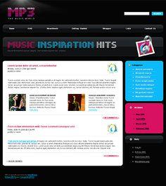 Mp3 Music WordPress Themes by Di