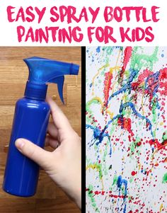 Just add water to tempera paint and watch the magic unfold.