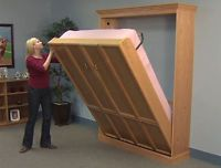 Do-It-Yourself Create-A-BedⓇ Murphy Bed Hardware Deluxe Kit, Plans & DVD