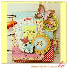 Paisleys & Polka Dots: May 2011 Scrapbook Layout & Mini-Album Kit Releases