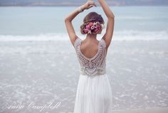 Anna Campbell wedding gowns from The Babushka Ballerina featured on Casuarina Weddings