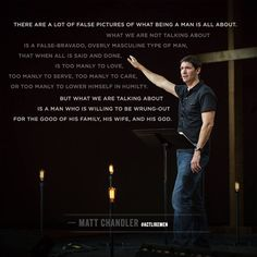 Good quote on Biblical Manhood