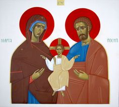 Holy Family (contemporary) by Danylo Movchan