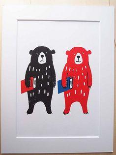 bears   ゆるゆる展開催 2015 4/1 to 30 コピス吉祥寺5階連絡通路アートギャラリー 展示作品こちらか…   Flickr