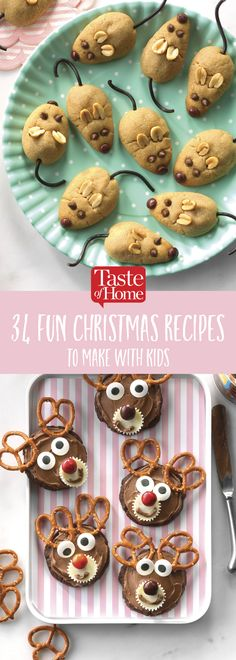 34 Fun Christmas Recipes To Make With Kids