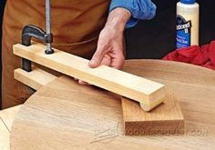 Wooden Bar Clamps - Clamp and Clamping Tips, Jigs and Fixtures - Woodwork, Woodworking, Woodworking Plans, Woodworking Projects