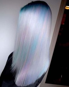 Prettiest Pastel Hair Colors To Copy pink ombre hairstyles pastel 25 Amazing Blue and Purple Hair Looks Opal Hair, Coloured Hair, Blonde Color, Red Colour, Cool Hair Color, Pretty Hairstyles, Scene Hairstyles, Hair Looks, Hair Trends