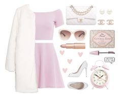 """""""Scream Queens"""" by franchesca-29 ❤ liked on Polyvore featuring AX Paris, MANGO, Chanel, Tiffany & Co., Eloquii, Le Silla, Too Faced Cosmetics, Maybelline and Newgate"""