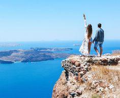 TESSA BARTON: Skaros Rock at the Aegean Sean