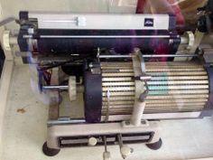 Japanese Typewriter.