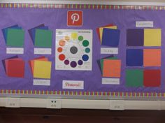 Color wheel interactive board