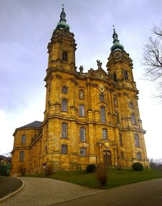 Vierzehnheiligen (Basilica of the Fourteen Holy Helpers) - 1 hour north of Dachstadt