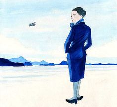 "https://flic.kr/p/YiFgoS | 31_01島のエアライン72ppi | the cut of the weekly serial novel on Sunday MAINICHI ""Shima no Airline"" by author Ryo KUROKI"
