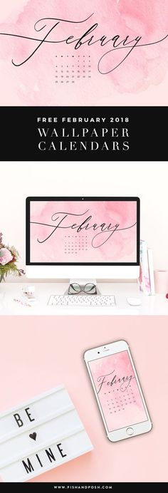 Happy February! Have you knocked anything off your resolution list yet?….Yeah me neither, it's okay! February is the new January anyways. 🙂 This month we have a pink watercolor wallpaper design for you to dress your tech with. We hope you enjoy! February 2018 WallpaperContinue Reading >>
