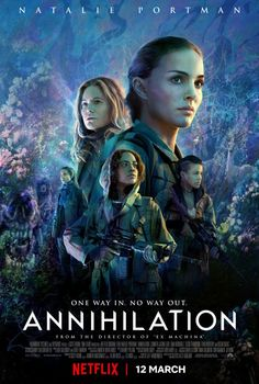 """Movie Review: #Annihilation. C+. """"If there's one element of the book that's perfectly preserved in the movie, it's the sense that it's trying to convey some deep and momentous meaning, but what that meaning might be, if any, is lost to inscrutable coding."""" #SciFi"""