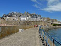 Depuis la jetée - Saint-Malo, Bretagne