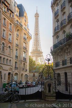 Art Nouveau Architecture, Paris France