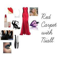 """Red Carpet"" by guyjanachaffeelv on Polyvore"