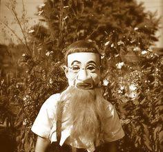 Vintage Halloween Photo~Old Soul