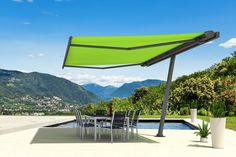 A new way of conceiving the shadow of outdoor spaces, thanks to Planet the convenience of an umbrella joins the quality Markilux thus giving the opportunity to position your awning Markilux favorite almost anywhere. With the ability to rotate sun protection has never been so simple and flexible, also by the various sensors Climatic available …