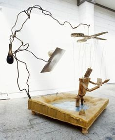 Bill Woodrow Desk Lamp, Table Lamp, Falling Apart, Puppet, Inspire, Artists, Lettering, Sculpture, Crafty