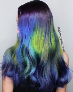 Northern Lights - Can't stop staring at this gorgeous hair look by…
