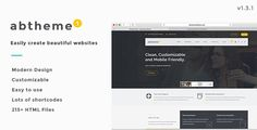 Download Free ABT - Bootstrap Responsive HTML5 Template