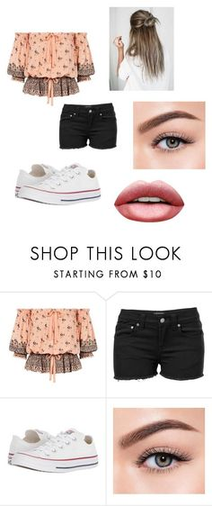 """Outfit #1"" by fashionpop1110 on Polyvore featuring beauty, Venus, Converse and Morphe #polyvoreoutfits"