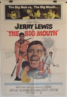 THE BIG MOUTH - JERRY LEWIS / SUSAN BAY - ORIGINAL AMERICAN 1SHT MOVIE POSTER