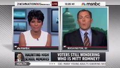 La periodista MSNBC Tamron Hall se convirtió en trending topic en Twitter el último viernes luego de que discutiera con su entrevistado durante su programa de televisión.