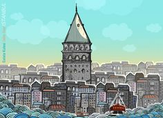 pop-up book for istanbul on Behance