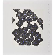 DONALD SULTAN-BLACK HONESTY (WALL FLOWERS)-POPARTGALERIEFLUEGELRONCAKNUREMBERG