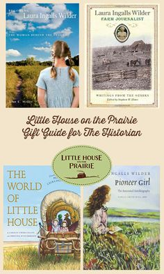 These gifts are perfect for someone who loves the pioneer era, or who wants to explore more about the world of Little House on the Prairie. Perfect for a Laura Ingalls Wilder fan.
