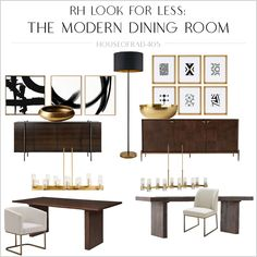 Living Room On A Budget, New Living Room, Living Room Modern, Living Room Decor, Rh Furniture, Restoration Hardware Dining Table, Leather Restoration, Luxe Decor, Fabric Armchairs