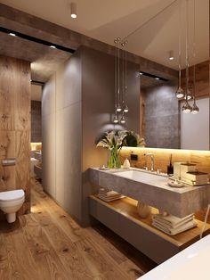 Badezimmer dachgeschoss 47 Tiny House Bathroom Remodel Ideas That Your Home Needs Toile Bedding Arti Bathroom Design Luxury, Modern Bathroom Decor, Modern Bathroom Design, Home Interior Design, Bathroom Designs, Modern Luxury Bathroom, Luxury Bathrooms, Tiny House Bathroom, Dream Bathrooms