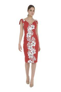 ea8f5b2c1e The Pretty Dress Company Ava in Hawaiian Print - Shop from The Pretty Dress  Company UK