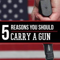 There are many, many reasons to carry a firearm. It seems like everyone has their own reasons for carrying, and no two are quite the same.  A must have: Gun carriers love this holster  Maybe you do it for self defense, to protect those around you, to defend your home, or just to