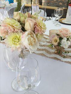 Hochzeit in rosa und gold im Jagdschloß Platte Wiesbaden