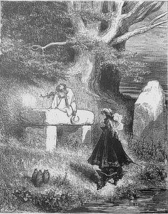 """Peau d'Âne - """" Le roi, qui s'était mis en tête ce bizarre projet, avait consulté un vieux druide."""""""
