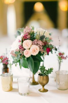 Autumn Wedding Centerpieces | http://www.fabmood.com/autumn-wedding-centerpieces/