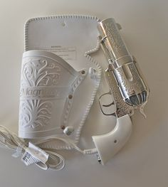 A hair dryer that looks like a gun! Hahaha. I want this