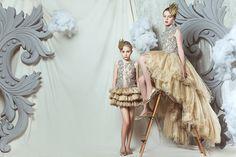 Luxury kids fashion from Mischka Aoki for fall 15